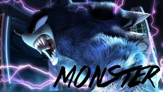 Sonic Feel Like A Monster - Music