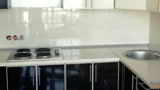 Кухня фото № 58 алюминиевом профиле цвет Бежевый - черный. от компании Фаберме - видео