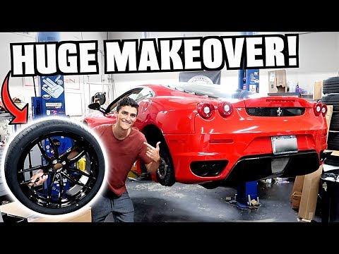 My Straight Piped Ferrari F430 Gets a CRAZY New Look!