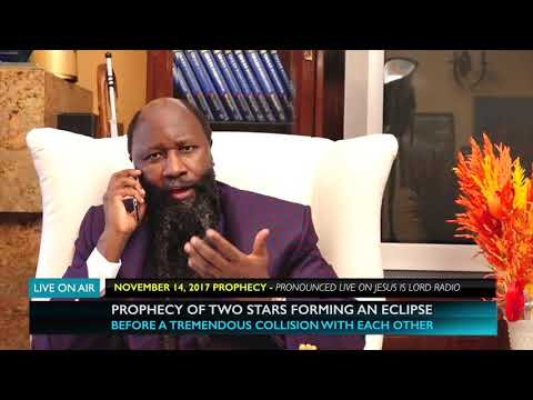 PROPHECY OF TWO STARS FORMING ECLIPSE BEFORE A TREMENDOUS COLLISION WITH EACH OTHER!
