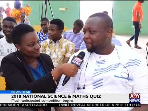 2018 National Science And Maths Quiz - News Desk on Joy News (11-6-18)