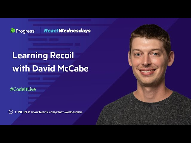 Learning Recoil with David McCabe