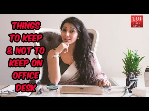 What to keep and not to keep on your Office & Study Desk | Dr. Jai Madaan