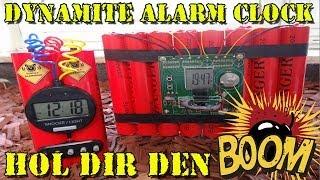 """""""DYNAMITE ALARM CLOCK"""" -Hol dir den BOOM !!!"""