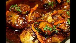 Oven baked Honey Garlic Glazed Chicken Thigh Cheap Christmas dinner
