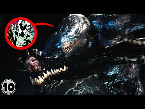 Top 10 Easter Eggs You Missed In Venom