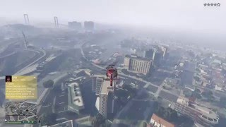 Grand Theft Auto V - Helicopter Fail!!!