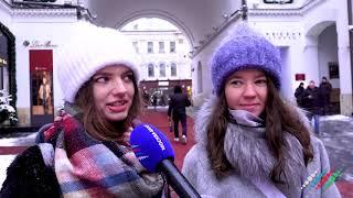 """Москвичи рассказали о том, как встретят Новый год   Опрос """"Москва-Баку"""""""