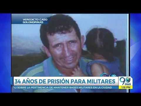 Militares condenados a 34 años prisión por falso positivo en Cali