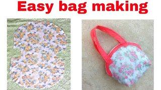 Super Easy, 10  मिनट   में  बनाऐ Easy  Handmade Bag Ll Market Bag Ll Lunch Bag Ll Bag Banana