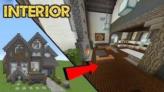 Minecraft Build School: Interior