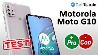 Motorola Moto G10 | Test (deutsch)
