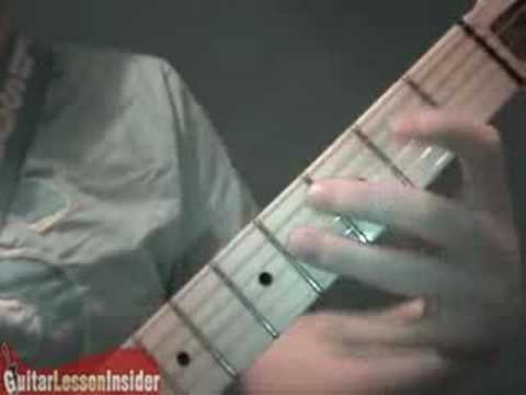 Electric Guitar Lesson - Reading Tabs 01