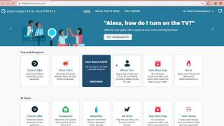 How to create an Alexa skill in Blueprints (Quiz)