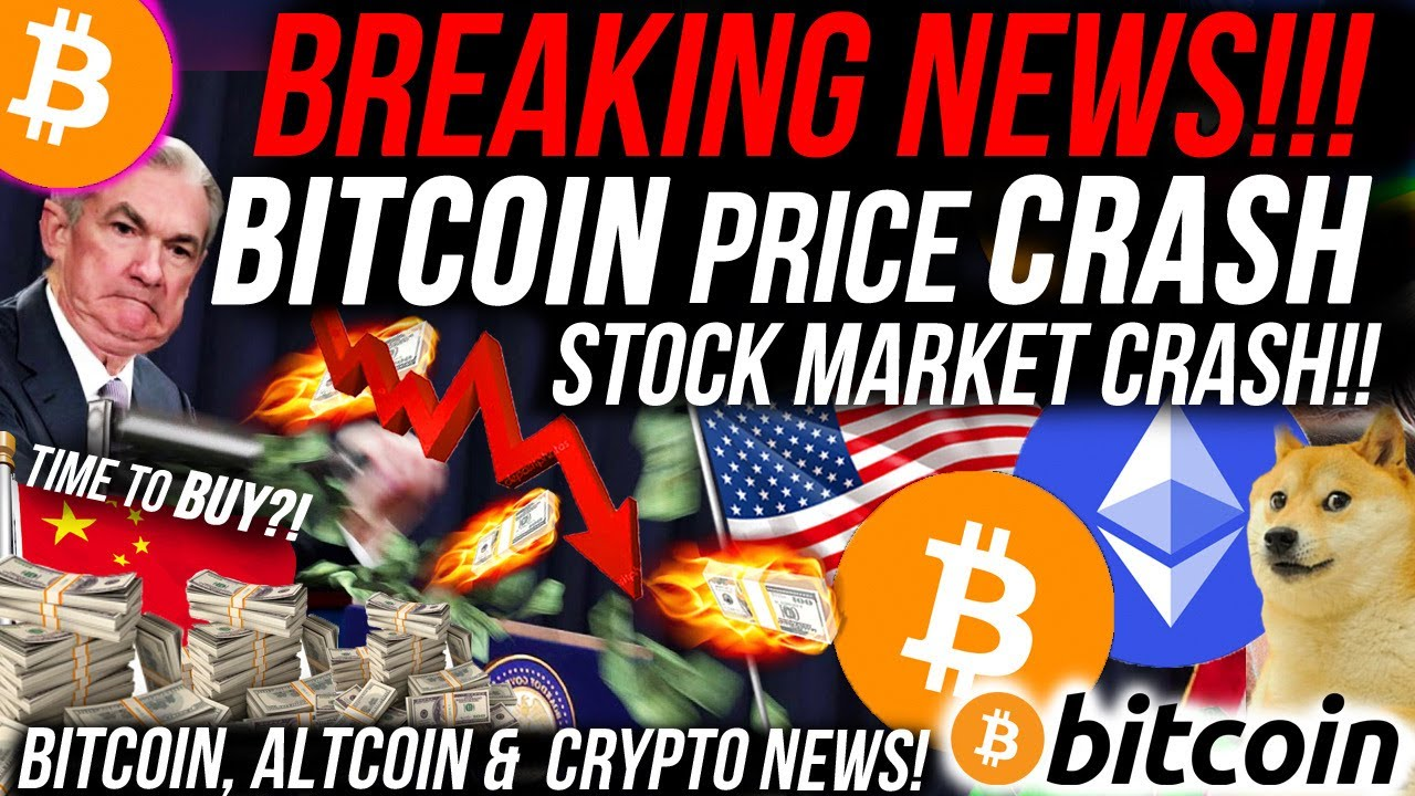 #Bitcoin #BTC BREAKING NEWS!!! BITCOIN PRICE CRASHED!!! CORRUPT BANKERS CRASH STOCK MARKET!! Altcoin & Crypto News