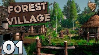 "Forest Village #01 ""Sobrevivência na floresta"" (Life is Feudal) - Gameplay Vamos Jogar PTBR"