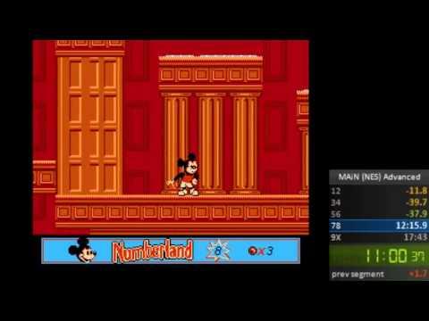 Mickey's Adventures in Numberland NES