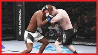 UFC 2 Ultimate Team Gameplay - THAT MAKES ME UNCOMFORTABLE!!