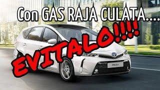 Toyota Hibrido a GAS Raja Culata.
