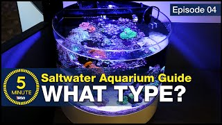 Get past the debate. Sump, hang-on or AIO (all-in-one), which type of aquarium should you choose?