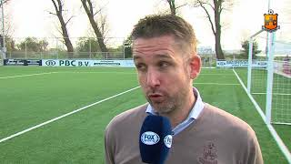 Reactie Gert Jan Karsten na ASV de Dijk - HHC Hardenberg