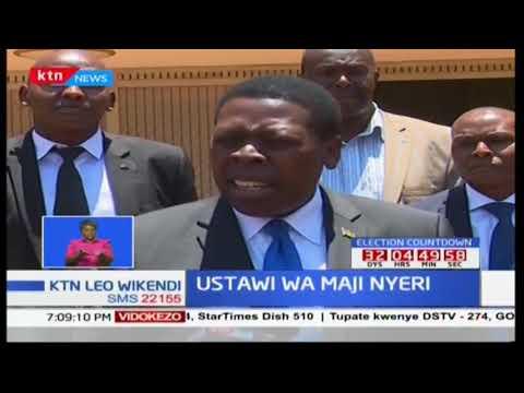 Kampuni ya maji ya Nyeri Water and Sewage Company kuchaguliwa kama kampuni nzuri zaidi ya maji Kenya