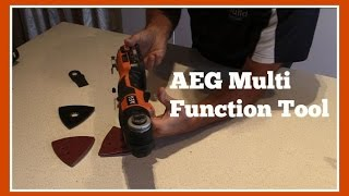 Tool Review  AEG Multi Function Tool OMNI18CXLI202B