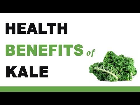 Video Health Benefits of Kale
