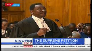 Supreme Court Judges analyze their submissions