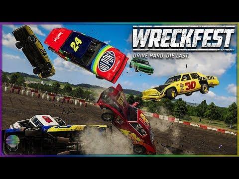 ABSOLUTELY BRUTAL! | Wreckfest | NASCAR Legends