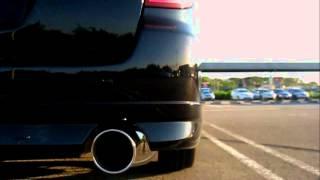 SubaruLegacyBP5MufflerSoundFUJITSUBOLegalisRtypeEVOLUTIONSVレガシィマフラー