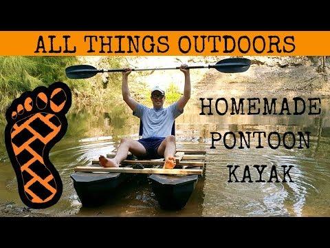 I built a homemade pontoon kayak — Message Boards