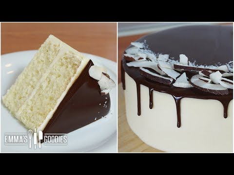 Video Moist Coconut Cake Recipe