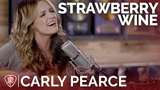Carly Pearce   Strawberry Wine (Acoustic Cover)  The George Jones Sessions