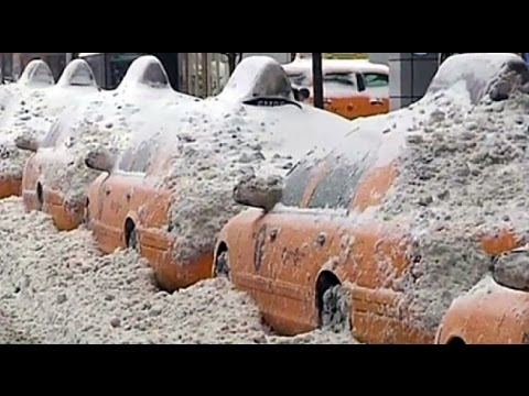 Снегопад века-климатическая атака на США