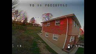 EMAX Tinyhawk 2 Freestyle | Backyard FPV Freestyle Practice