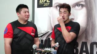UFC 207: Dong Hyun Kim Would 'Love To Fight' Demian Maia Next