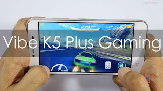 Lenovo Vibe K5 Plus Gaming Review with Popular Games