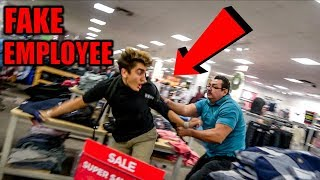 FAKE Black Friday Employee **ATTACKED**