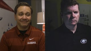 SEC Shorts - Alabama and Georgia fans tell very different bedtime stories
