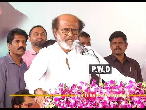 Rajinikanth's indirect comments against Kamal Haasan on his political entrance