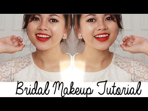 Trang Điểm Cô Dâu- Bridal Makeup Tutorial