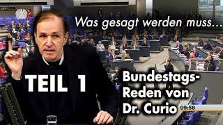 Unbequeme Wahrheiten im Bundestag - Teil 1