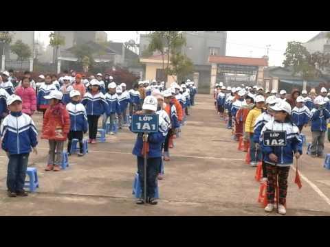 Hoạt động tập thể-truong tiểu học Kim Đồng
