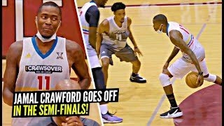 Jamal Crawford Pulls Up Late & STILL COOKS Everyone at His Pro Am! Semi-Finals Full Highlights!