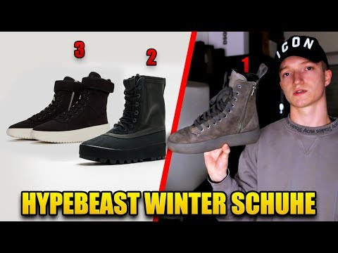 ❄ TOP 5 WINTER SNEAKER