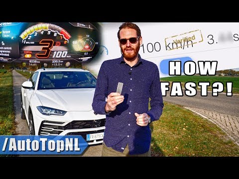 HOW FAST Can I LAUNCH The LAMBORGHINI URUS?! by AutoTopNL
