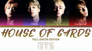 Gambar cover BTS (방탄소년단) - House of Cards (Full Length Edition) | Color Coded Lyrics | Han/Rom/Eng