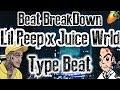 Beat Breakdown: A Juice WRLD x Lil Peep Type Beat | FL Studio Juice WRLD Lil Peep Tutorial 2018