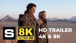DUNE (2020) - Final Trailer 4K and 8K version - Timothée Chalamet, Zendaya Movie